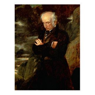 Portrait of William Wordsworth  1842 Postcard