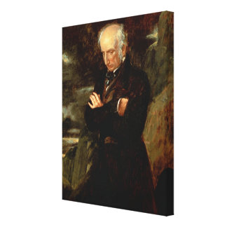 Portrait of William Wordsworth  1842 Stretched Canvas Print