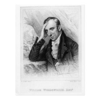 Portrait of William Wordsworth Postcard