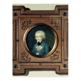 Portrait of Wolfgang Amadeus Mozart , 1773 Postcard