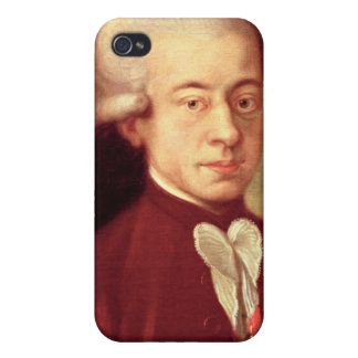 Portrait of Wolfgang Amadeus Mozart after 1770 Cover For iPhone 4