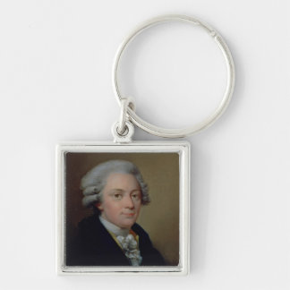Portrait of Wolfgang Amadeus Mozart Key Ring