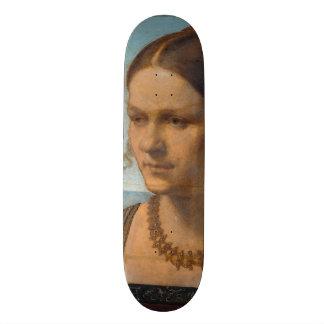 Portrait of Young Venetian Lady by Durer 21.6 Cm Skateboard Deck