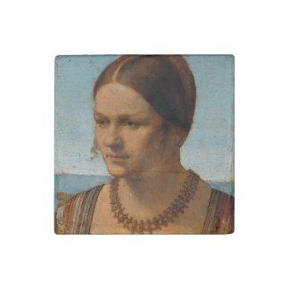 Portrait of Young Venetian Lady by Durer Stone Magnet
