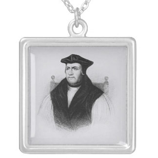 Portrait Parker from 'Lodge's British Silver Plated Necklace