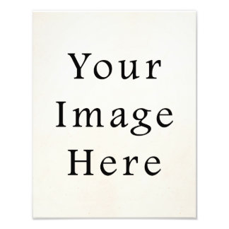 Portrait Photo Print Personalized Poster Paper