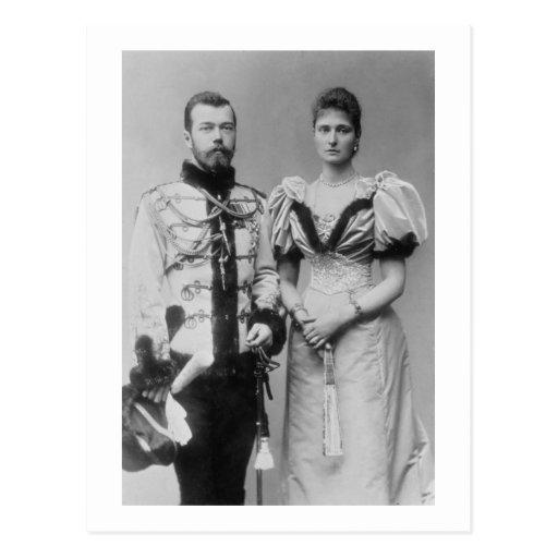 Portrait photograph of Tsar Nicholas II (1868-1918 Postcards