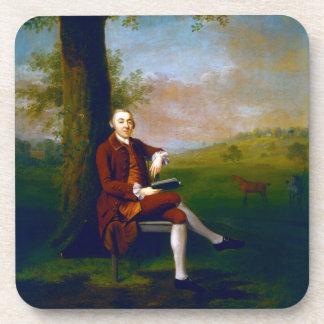 Portrait possibly of John Trevor, 3rd Baron Trevor Drink Coasters