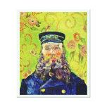 Portrait Postman Joseph Roulin Vincent van Gogh