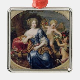 Portrait presumed to be Francoise-Athenais Christmas Ornament