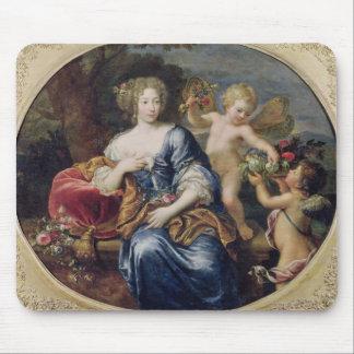 Portrait presumed to be Francoise-Athenais Mouse Mat