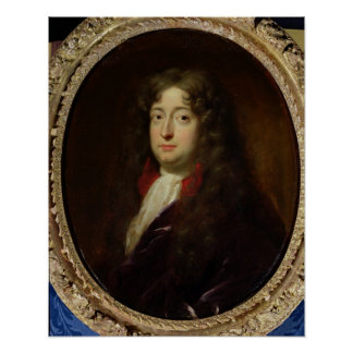 Portrait presumed to be Jean Racine Poster