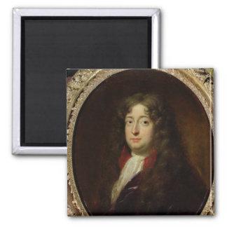 Portrait presumed to be Jean Racine Square Magnet