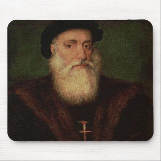 Portrait presumed to be of Vasco da Gama  c.1524 Mouse Mat