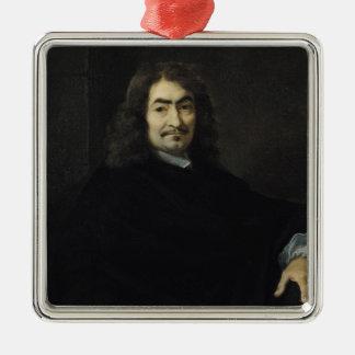 Portrait, presumed to be Rene Descartes Christmas Ornament