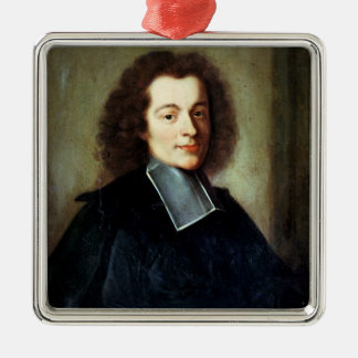 Portrait presumed to be Voltaire  as a young man Christmas Ornament
