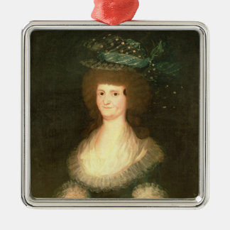 Portrait Queen Maria Luisa  wife of King Christmas Ornament