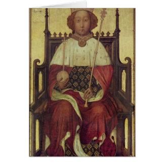 Portrait Richard II 'The Westminster Portrait' Card