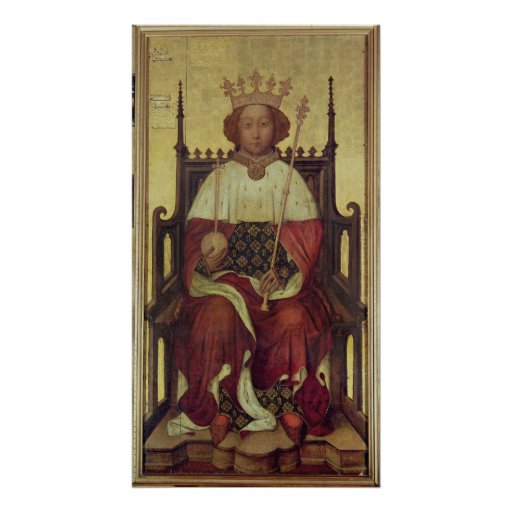 Portrait Richard II 'The Westminster Portrait' Poster