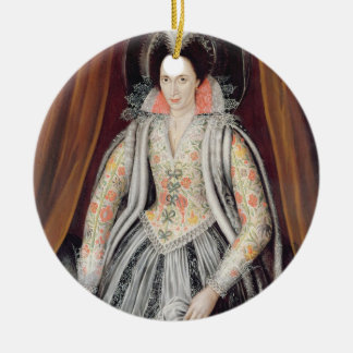 Portrait said to be Susan, Lady Grey Christmas Ornament