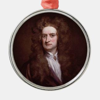 Portrait Sir Isaac Newton by Sir Godfrey Kneller Christmas Ornament