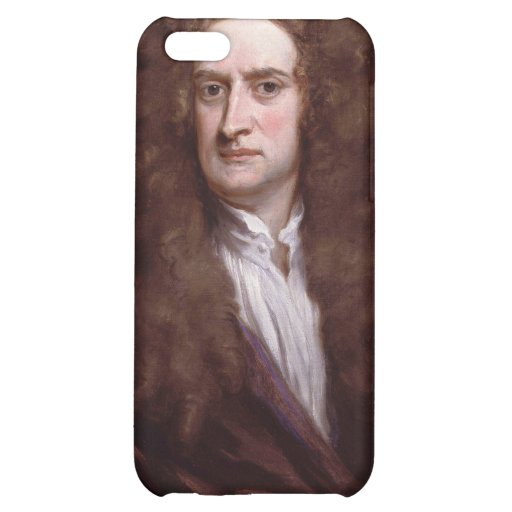 Portrait Sir Isaac Newton by Sir Godfrey Kneller iPhone 5C Cases