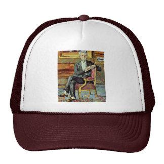 Portrait Sitting Victor Chocquet By Paul Cézanne Mesh Hat