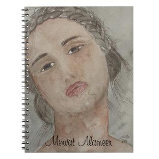 portrait spiral note book
