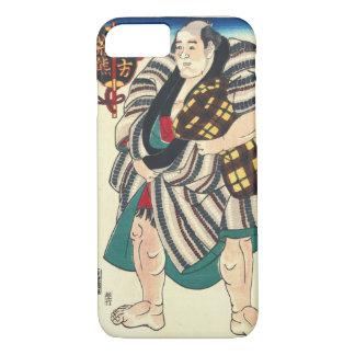 Portrait Sumo Wrestler 1847 iPhone 7 Case