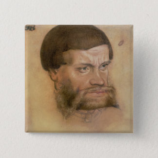 Portrait thought to be of John the Steadfast 15 Cm Square Badge