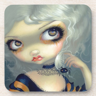 """""""Portrait with a Spiderling"""" Coasters"""