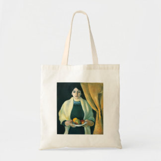 Portrait with apples  by Macke Bag