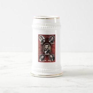 Portraits of Abraham Lincoln Vintage Mug