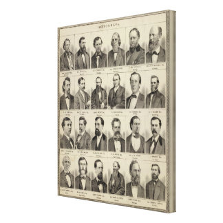 Portraits of Attorneys, Minnesota Canvas Print