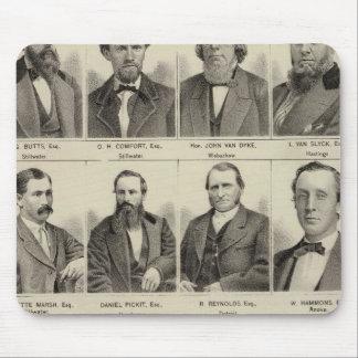 Portraits of Attorneys, Minnesota Mouse Mat