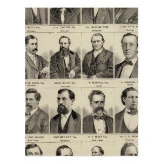 Portraits of Attorneys, Minnesota Postcard