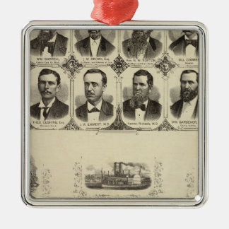 Portraits of Citizens of Cass County Christmas Ornament