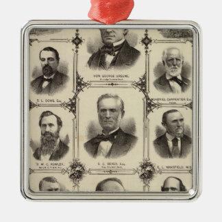 Portraits of Citizens of Cedar Rapids Christmas Ornament
