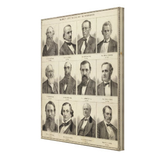 Portraits of Early Settlers of Minnesota Canvas Prints