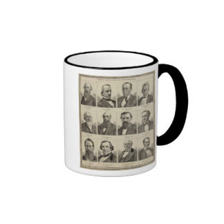 Portraits of Early Settlers of Minnesota Coffee Mugs