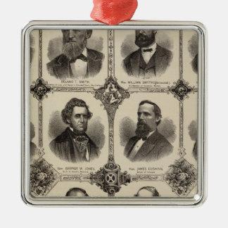 Portraits of EG Potter, Delano T Smith Christmas Ornament
