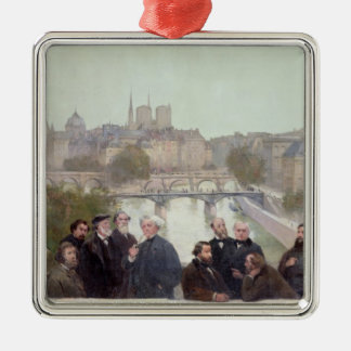 Portraits of French artists and authors Christmas Ornament