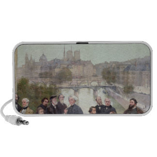 Portraits of French artists and authors iPhone Speaker