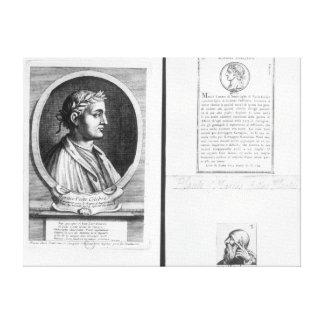 Portraits of Horace  Scipio Aemilianus Canvas Prints