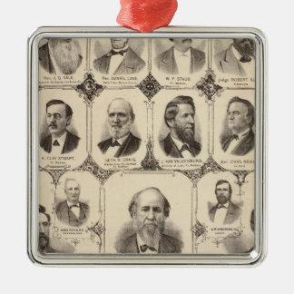 Portraits of JC Knapp Christmas Ornament