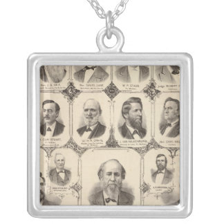 Portraits of JC Knapp Silver Plated Necklace
