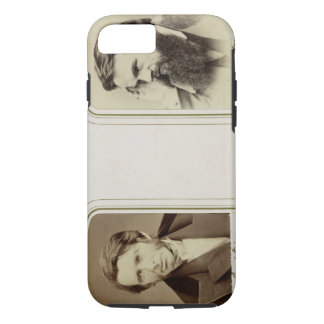 Portraits of John Ruskin (1819-1900) and William H iPhone 7 Case
