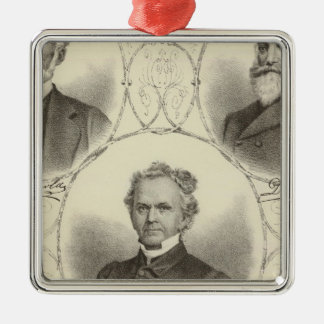 Portraits of men of the New Jersey coast Christmas Ornament