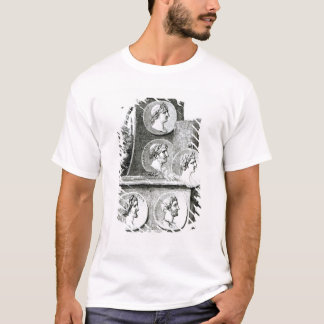 Portraits of Roman Emperors from T-Shirt