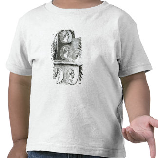 Portraits of Roman Emperors from Tee Shirts